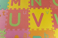 Cartas del color I Fotos de archivo libres de regalías