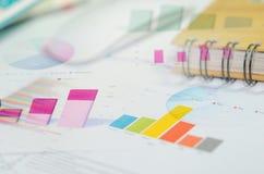 Cartas del concepto del negocio imagenes de archivo