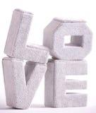 Cartas grandes del amor Foto de archivo libre de regalías
