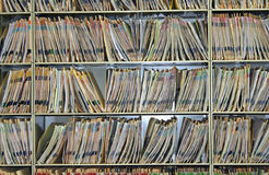 Cartas médicas, dentais, veterinárias, ou do seguro Fotografia de Stock
