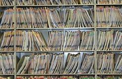 Cartas médicas, dentales, veterinarias, o del seguro fotografía de archivo