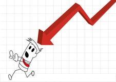 Cartas negativas deperseguição quadradas Imagens de Stock Royalty Free