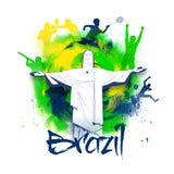 Cartaz, bandeira para o conceito dos esportes Foto de Stock Royalty Free