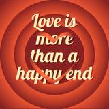 Cartaz, cartão do amor Imagem de Stock