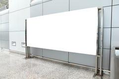 Cartaz com espaço da cópia no aeroporto imagens de stock