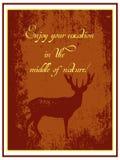 Cartaz da agência de viagens Imagens de Stock
