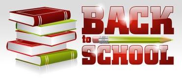 Cartaz da escola Foto de Stock