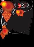 Cartaz da uva Imagem de Stock