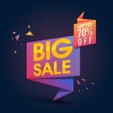 Cartaz da venda, bandeira ou projeto grande do inseto Imagem de Stock
