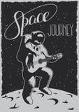 Cartaz da viagem do espaço Fotos de Stock Royalty Free