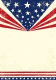 Cartaz de América ilustração royalty free