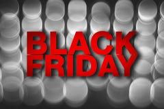 Cartaz de Black Friday ilustração do vetor