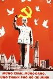 Cartaz de Ho Chi Minh fotos de stock