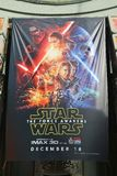 Cartaz de Star Wars Imagens de Stock