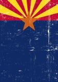 Cartaz do Arizona ilustração stock