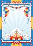 Cartaz do circo Fotografia de Stock Royalty Free