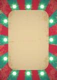 Cartaz do circo Imagem de Stock