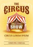 Cartaz do circo Ilustração do vetor ilustração royalty free