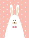 Cartaz do coelho da papá Imagens de Stock Royalty Free