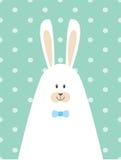 Cartaz do coelho da papá Imagem de Stock Royalty Free