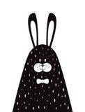 Cartaz do coelho da papá Foto de Stock