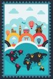Cartaz do curso Imagens de Stock Royalty Free