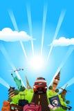 Cartaz do curso Fotos de Stock Royalty Free