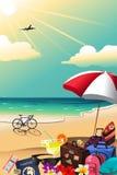 Cartaz do curso do verão Imagem de Stock