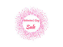 Cartaz do dia do ` s do Valentim Imagens de Stock Royalty Free