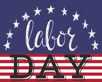 Cartaz do Dia do Trabalhador Fotografia de Stock