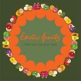 Cartaz do fruto Imagem de Stock Royalty Free