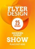 Cartaz do fundo da música do inseto Ilustração do molde do projeto da mostra do evento ilustração royalty free