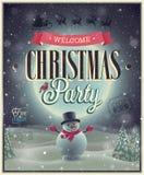Cartaz do Natal. Imagem de Stock