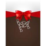Cartaz do Natal Fotografia de Stock
