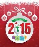 Cartaz do Natal ilustração stock
