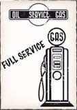 Cartaz do serviço do vintage Imagem de Stock