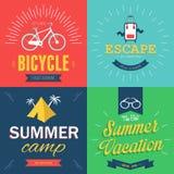 Cartaz do verão Imagem de Stock Royalty Free