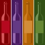 Cartaz do vinho Foto de Stock