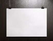 Cartaz horizontal imagens de stock