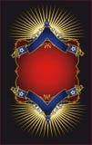 Cartaz luxuoso Imagem de Stock Royalty Free