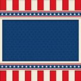 Cartaz patriótico Art Memorial Day do fundo 4o julho imagens de stock royalty free