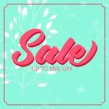 Cartaz retro da venda com textura do grunge Até 80 Fotos de Stock