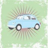 Cartaz retro do carro Fotos de Stock