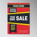 Cartaz super da venda da oferta especial Imagem de Stock