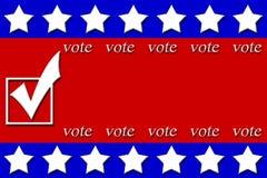Cartazes da campanha Imagem de Stock