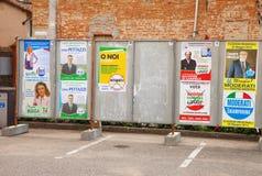 Cartazes da eleição Imagens de Stock