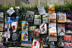 Cartazes, festival do teatro de Avignon Imagem de Stock