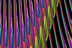Cartazes gerados por computador Imagens de Stock