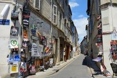 Cartazes na rua, festival do teatro de Avignon Imagens de Stock Royalty Free