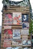 Cartazes soviéticos da guerra. Imagem de Stock